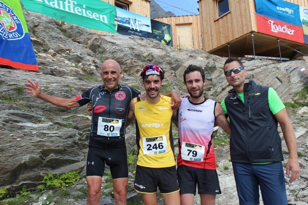 Sieger Stettiner Cup 2018 Linardi, Perkmann, Hofer, OK-Chef Raich